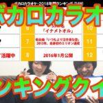 【クイズ】ボカロカラオケランキング【年間TOP10】